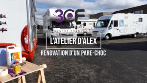 Rénovation d'un pare-choc en video